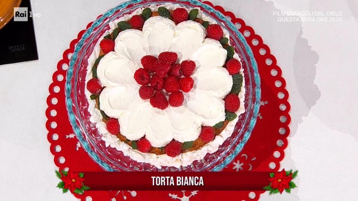 foto È sempre mezzogiorno torta bianca