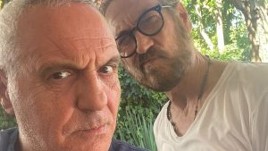 Foto Giorgio Panariello e Marco Giallini