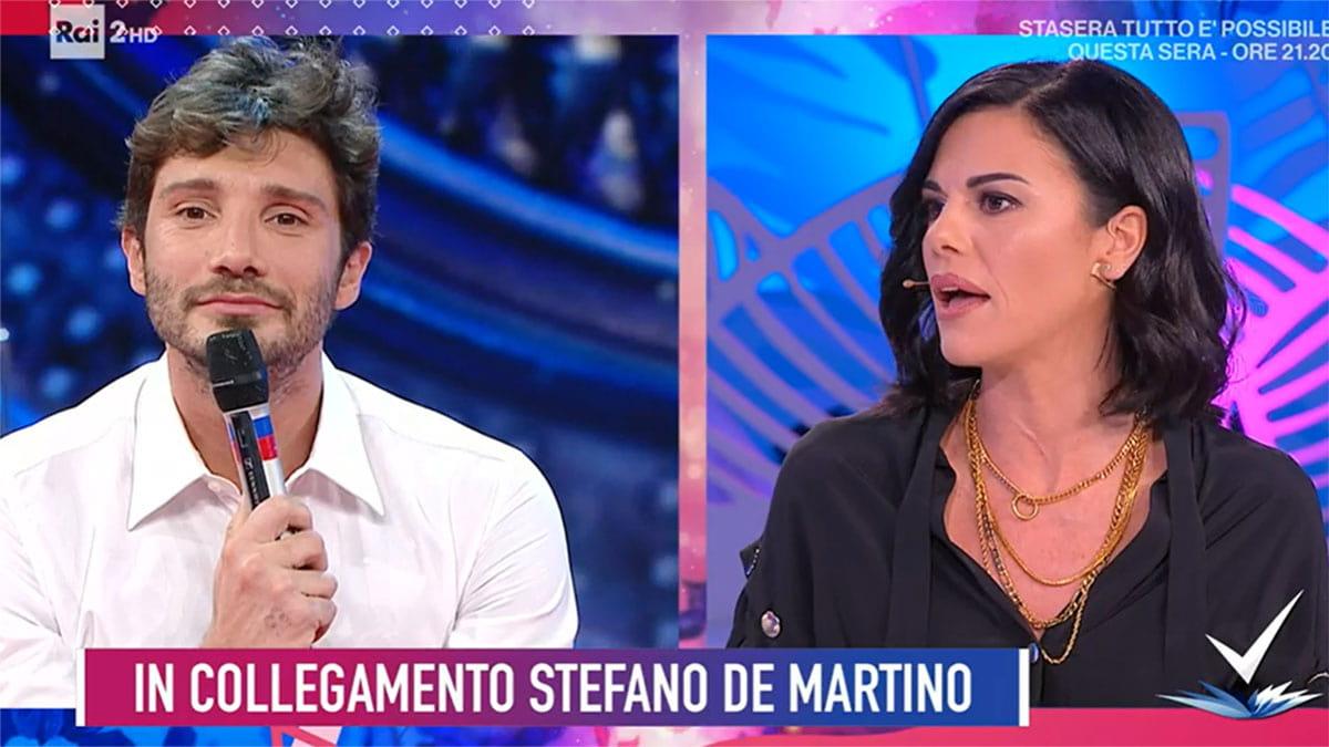 foto Stefano De Martino e Bianca Guaccero a Detto Fatto