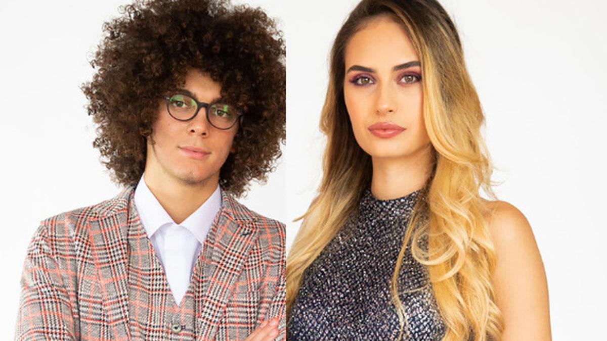 foto Alessio Guidi e Stephanie Bellarte a La pupa e il secchione