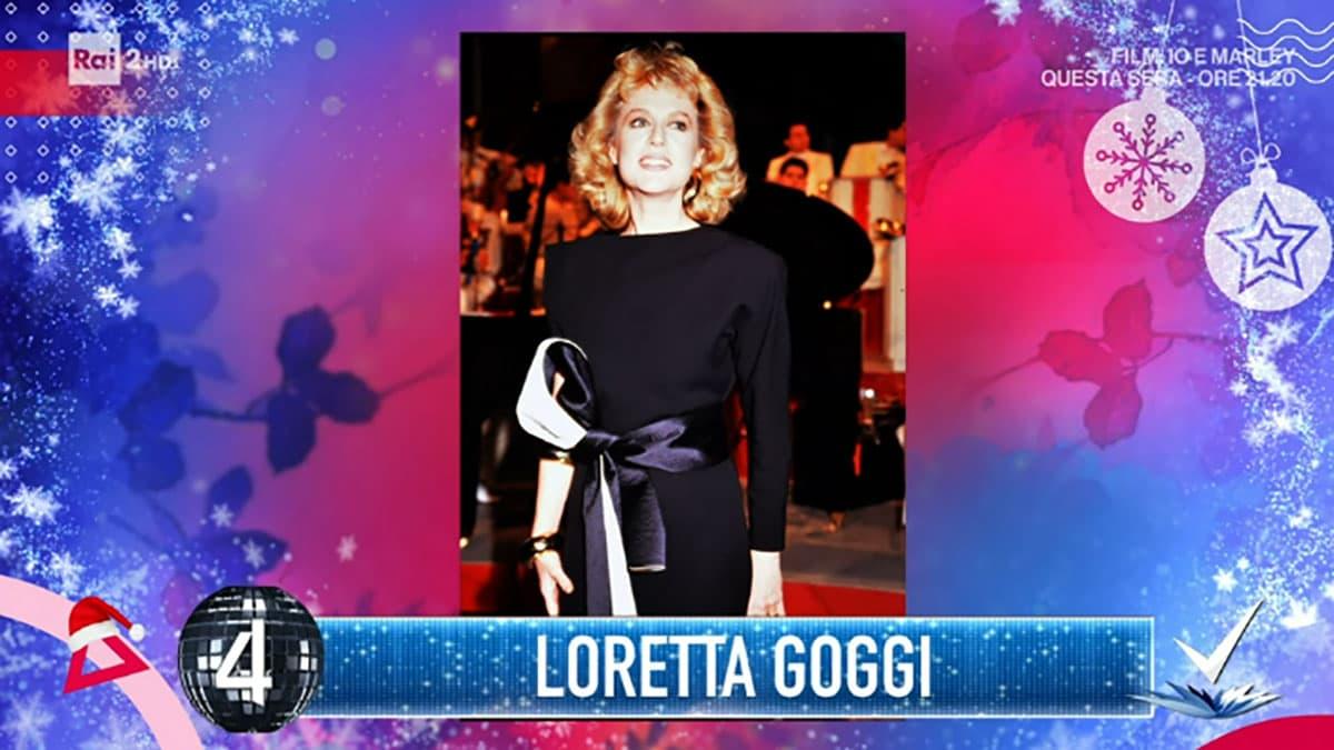 foto Loretta Goggi a Detto Fatto