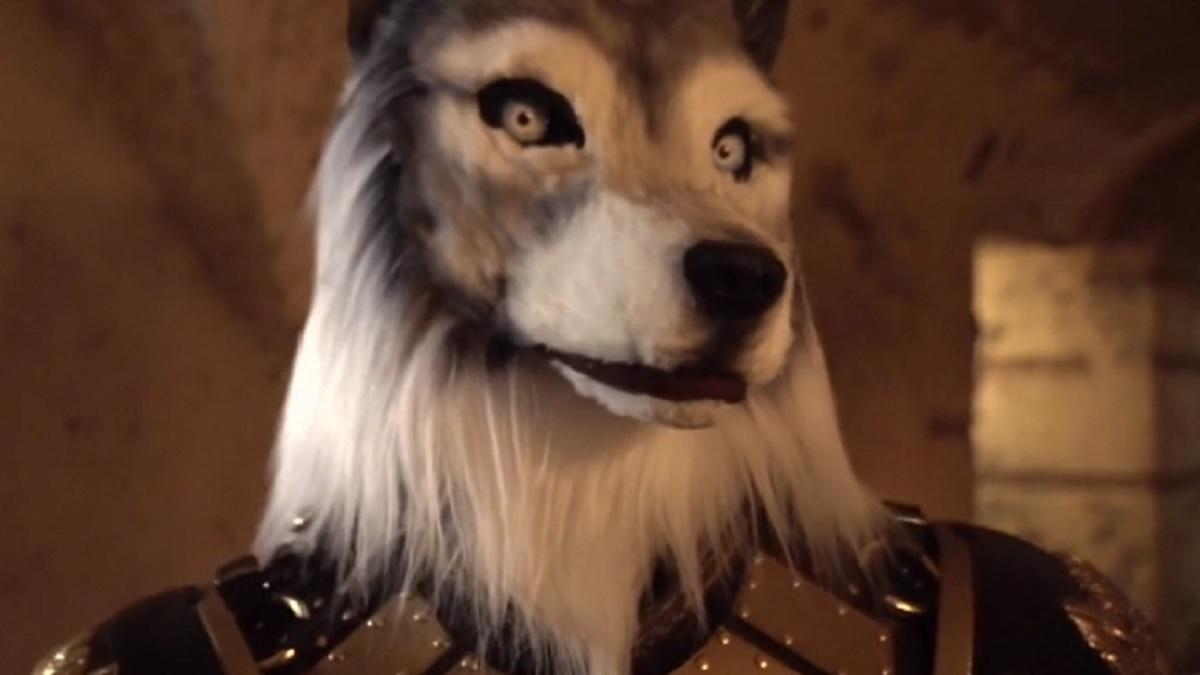foto il lupo cantante mascherato