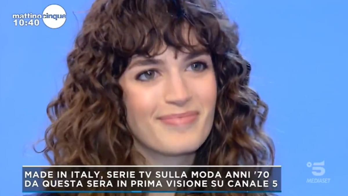 foto Made in Italy Greta Ferro Mattino 5