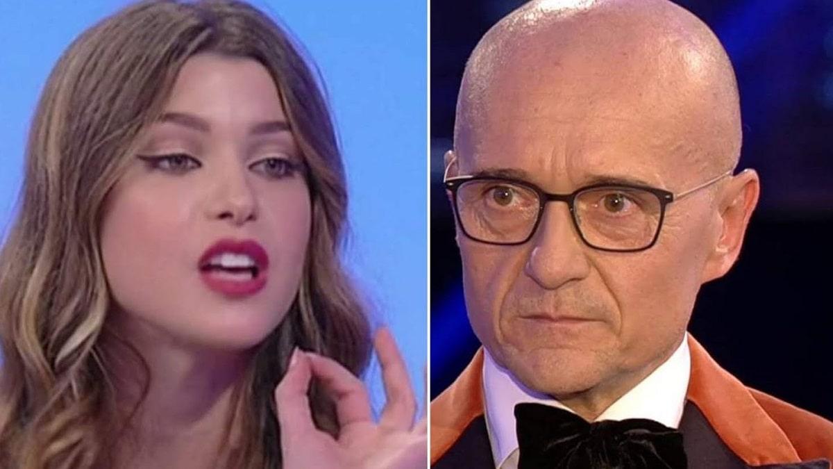 foto Natalia Paragoni contro Alfonso Signorini