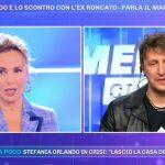 """Pomeriggio 5, marito di Stefania Orlando su Roncato: """"Situazione strana"""""""