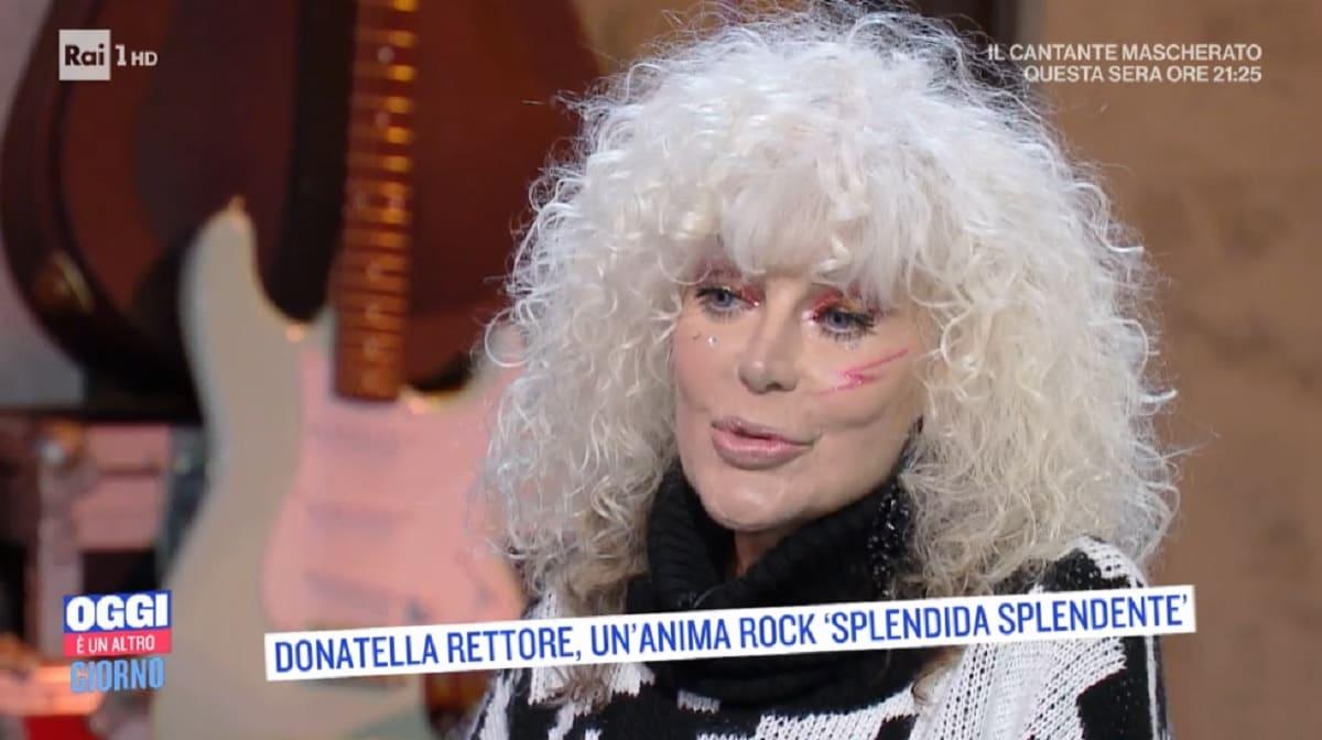 foto di Donatella Rettore da Serena Bortone