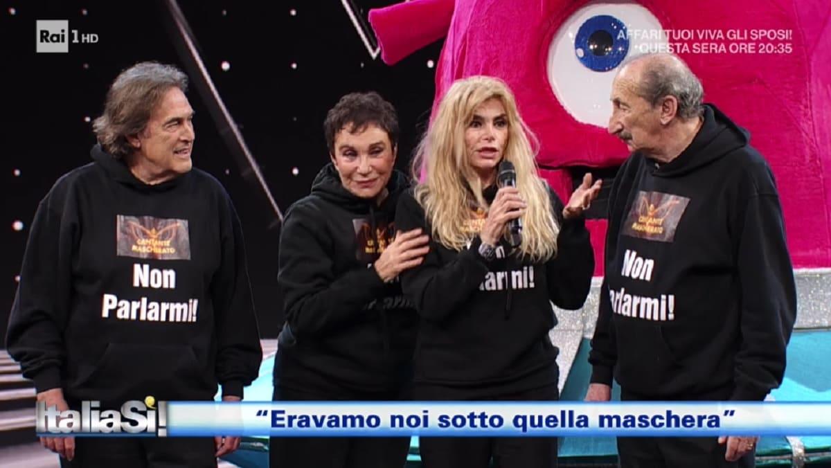 foto dei Ricchi e Poveri a Italia Si
