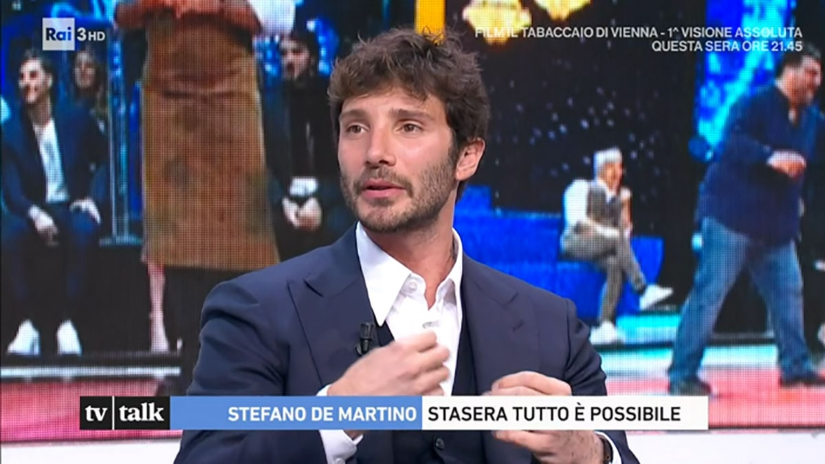 foto Stefano De Martino a Tv Talk