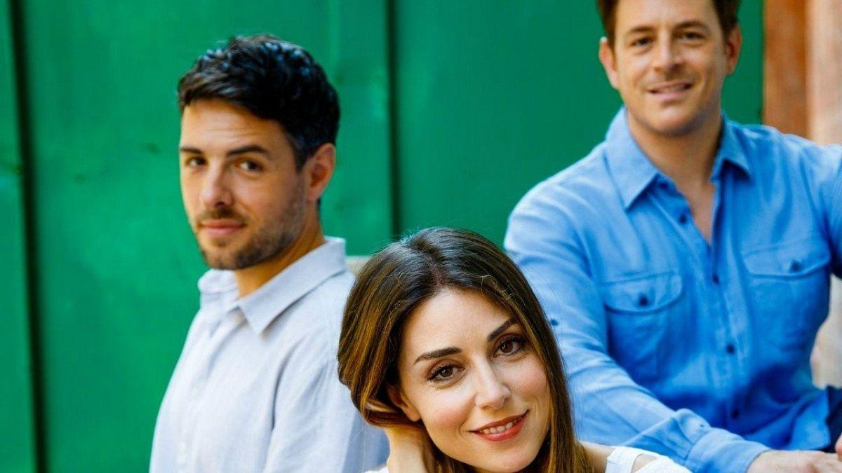 Foto Un posto al sole Filippo, Serena e Leonardo