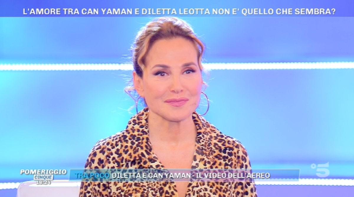 Foto Barbara D'Urso Notizia Choc Can Yaman Diletta Leotta