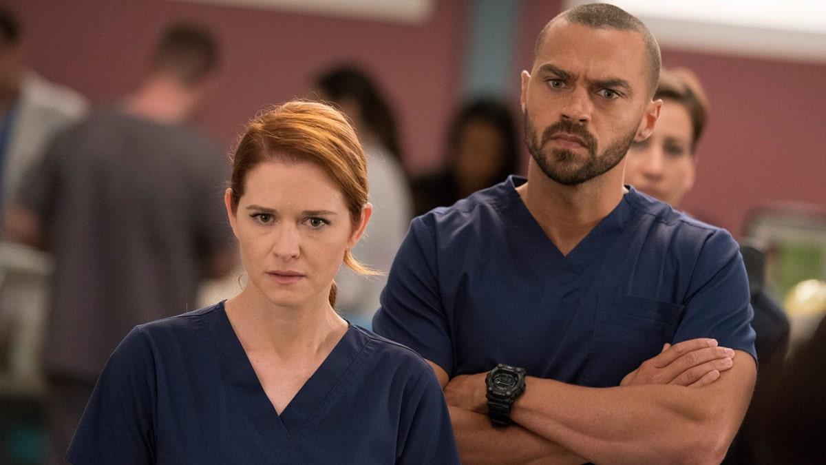 Foto Grey's Anatomy - Jackson e April