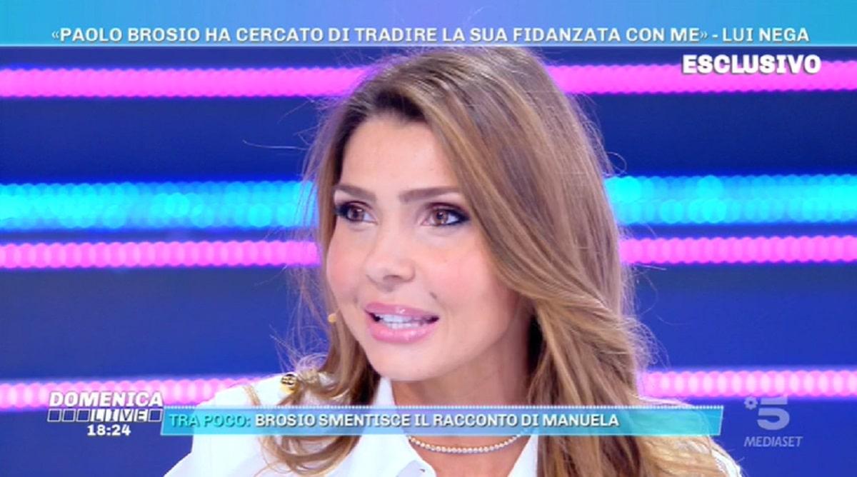 Foto Manuela Ferrera Domenica Live