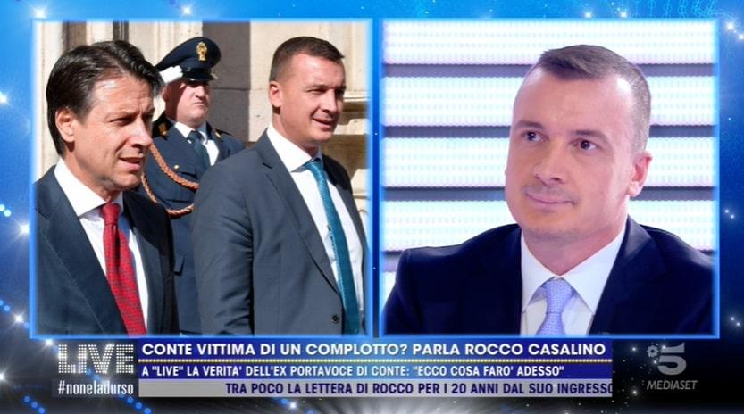 Foto Rocco Casalino Live Non E' La d'Urso
