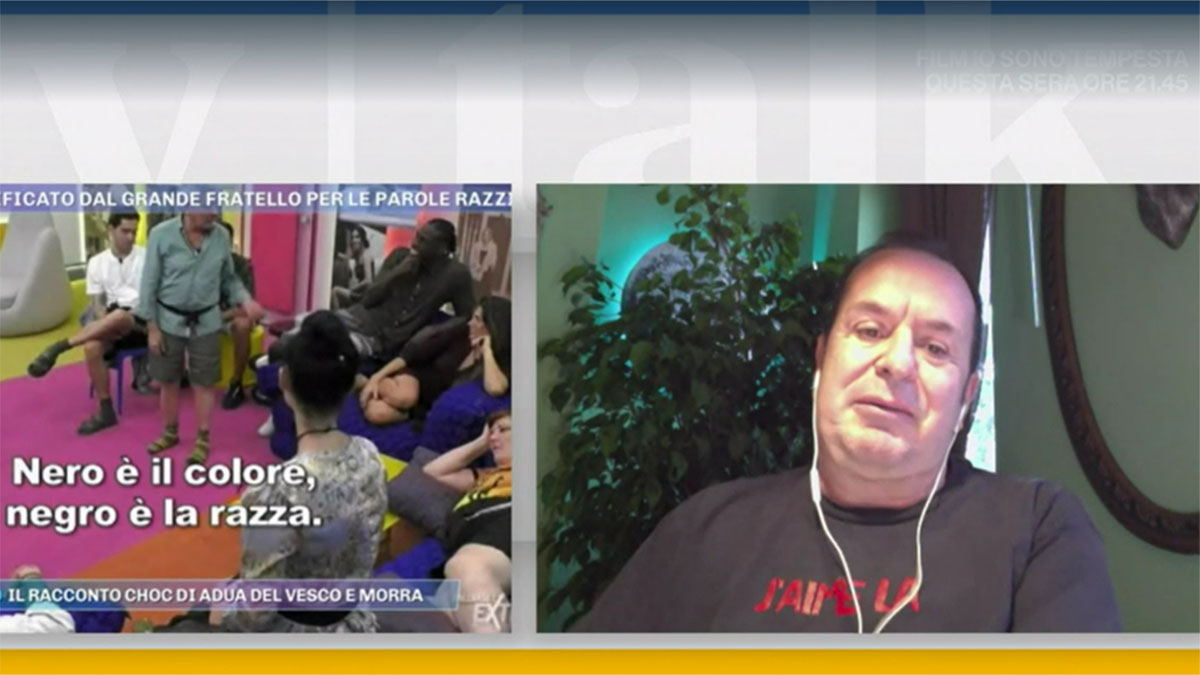 foto Fabio Canino a Tv Talk