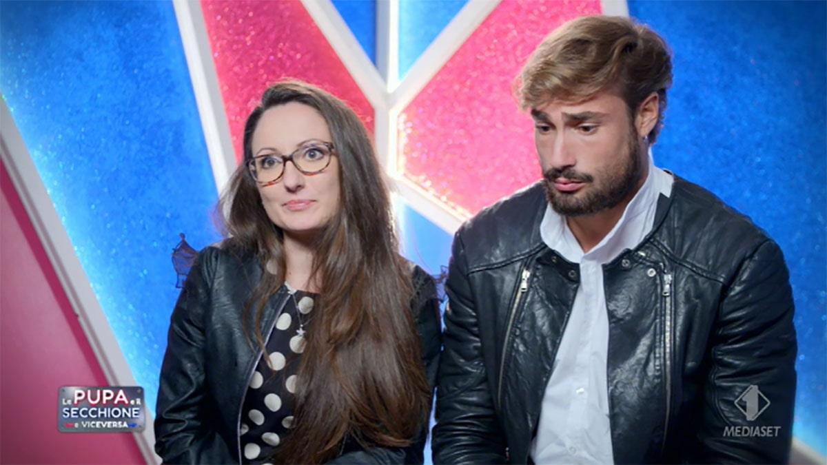 foto Giulia Orazi e Gianluca Tornese a La pupa e il secchione