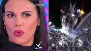 foto Bianca Guaccero e Farfalla de Il cantante mascherato