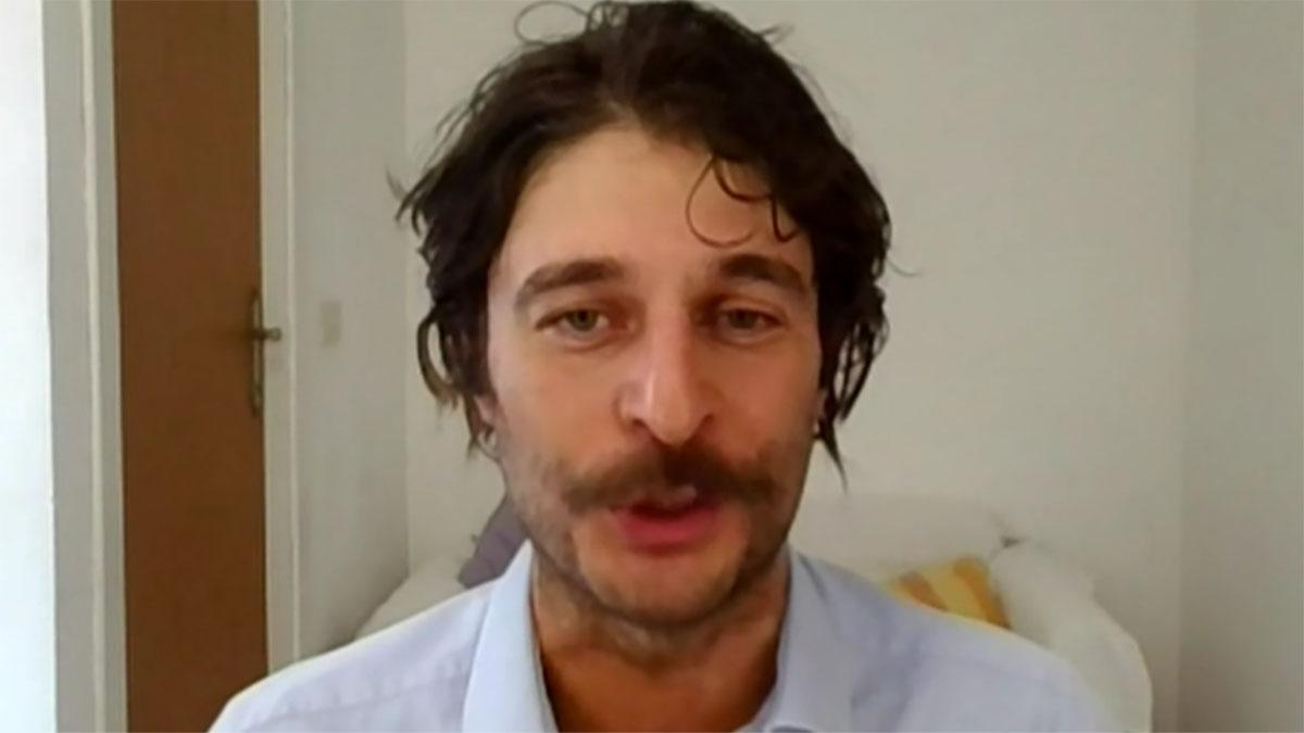 foto Lino Guanciale a Tv Talk