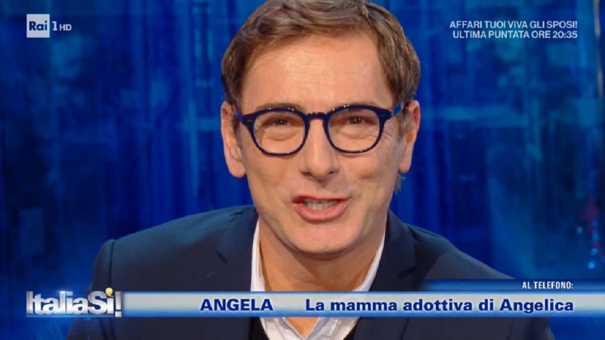 Marco Liorni a Italia Si del 6 febbraio