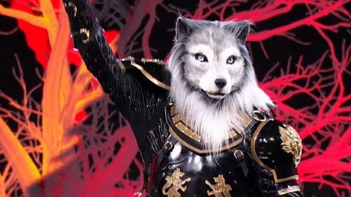 foto lupo cantante mascherato finale