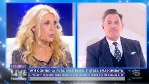 foto Maria Teresa Ruta e Filippo Nardi a Live Non è la D'Urso