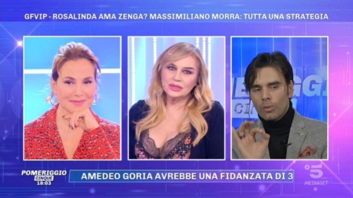 foto Massimiliano Morra Lory Del Santo Pomeriggio 5