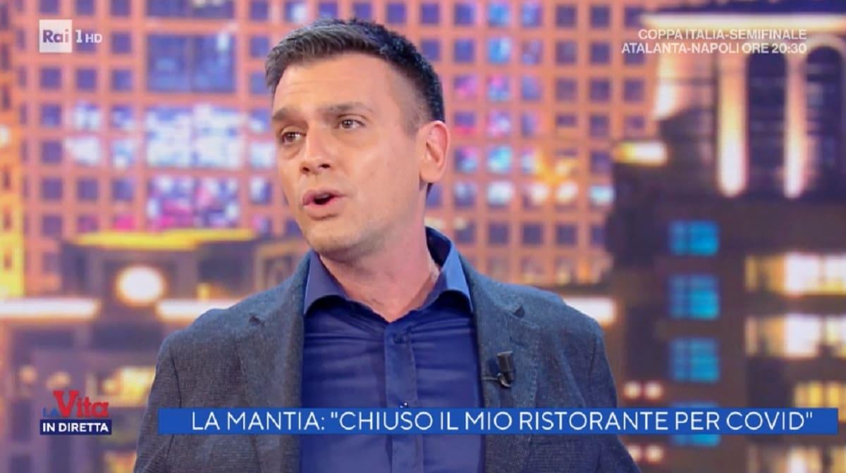 foto di Roberto Poletti a La vita in diretta del 10 febbraio