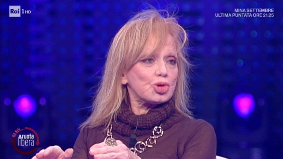 foto Rita Pavone a Da noi a ruota libera parla di Sanremo 2021