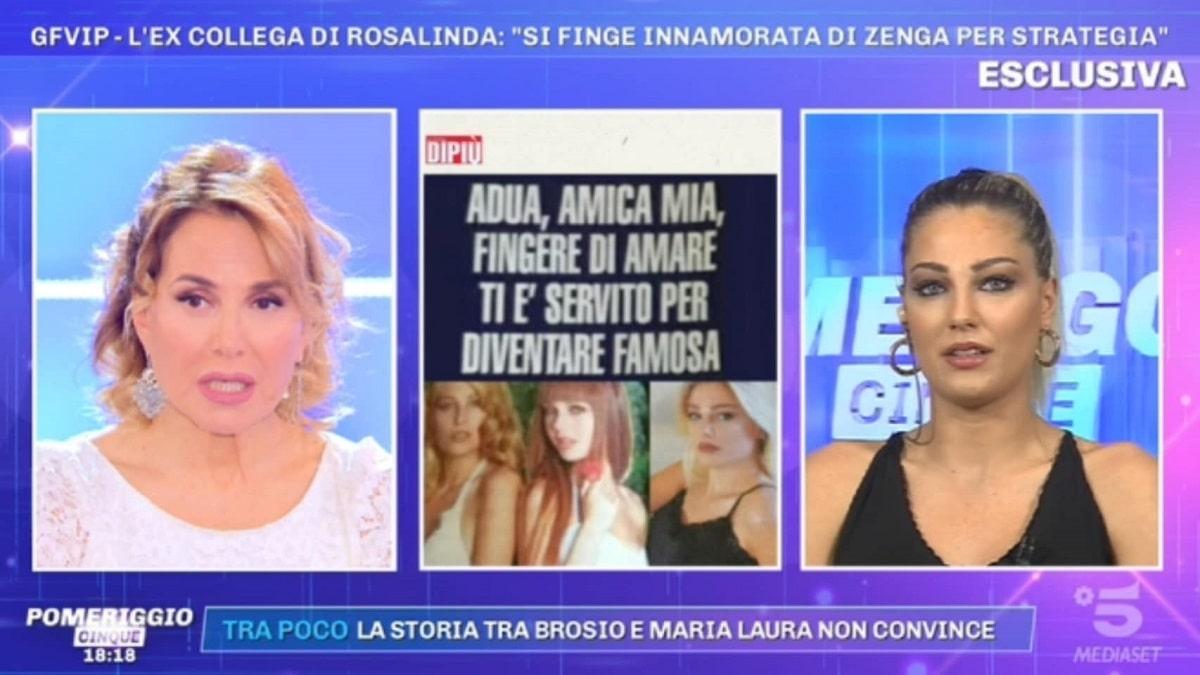 foto Rosalinda Cannavò criticata a Pomeriggio 5