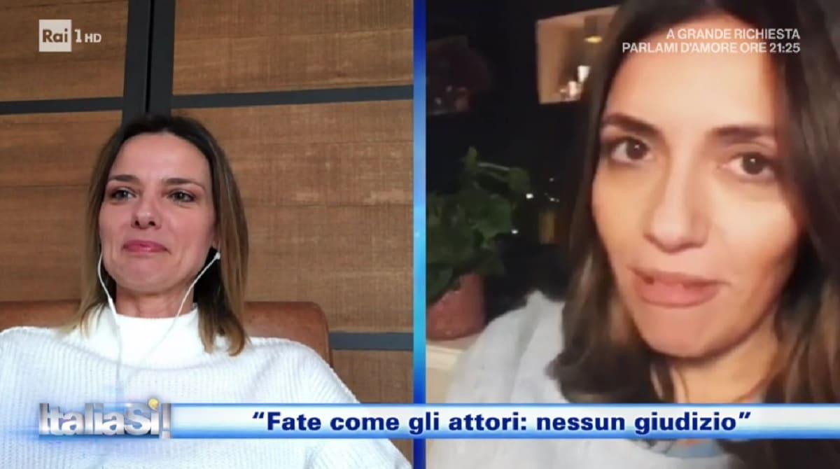foto di Serena Rossi e Christiane Filangieri a Italia Si