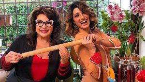 foto Samanta Togni e Angelica Sepe a Domani è Domenica