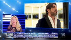 foto Valeria Marini Gianluigi Martino Live Non è la D'Urso