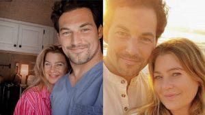 Foto Grey's Anatomy - Ellen Pompeo e Giacomo Gianniotti