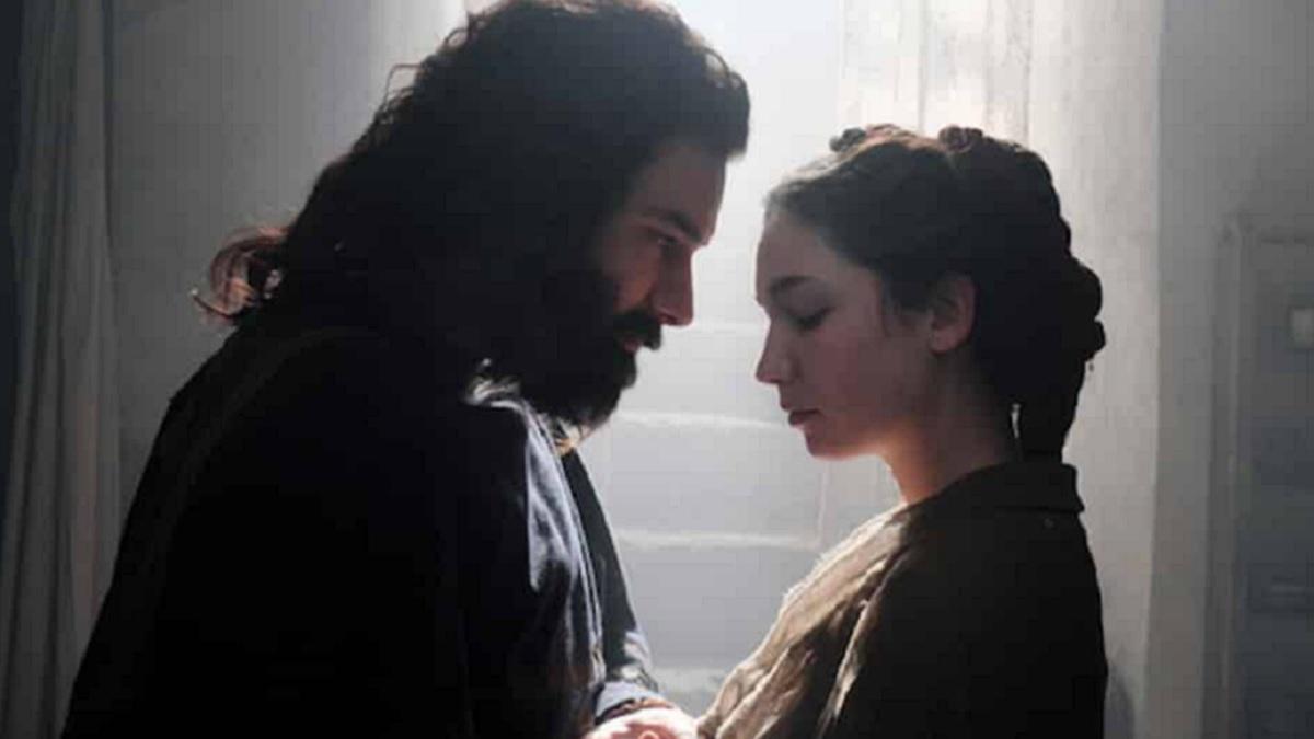 Foto Leonardo - Aidan Turner e Matilda De Angelis
