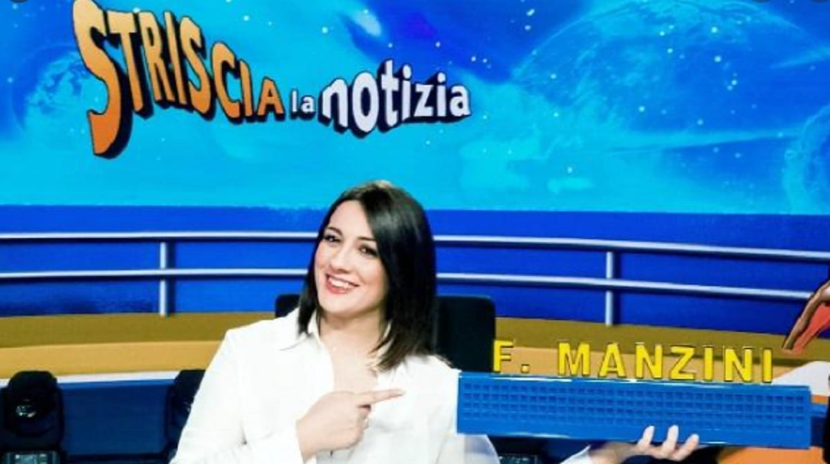 Foto Francesca Manzini Striscia La Notizia