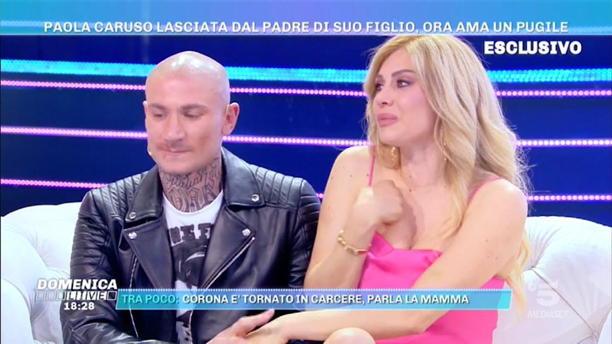 Foto Paola Caruso fidanzato Dario Socci