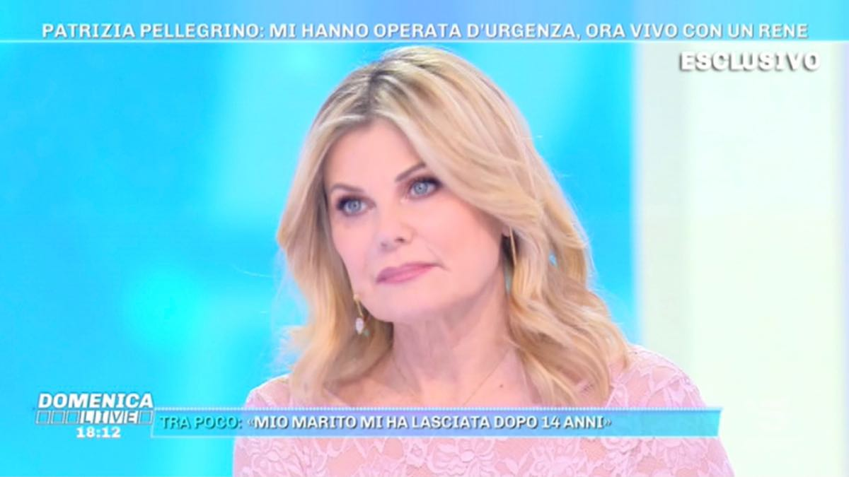 Foto Patrizia Pellegrino Domenica Live