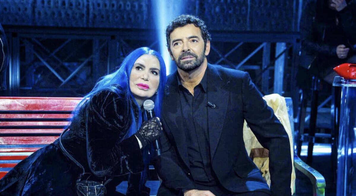 foto Alberto matando Loredana Bertè