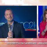 """Il filo rosso, Paola Perego ospita Amadeus: """"Sanremo? Sfida impossibile"""""""
