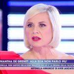 "Live, Antonella Elia sulla lite con Samantha De Grenet: ""Sono una cafona"""