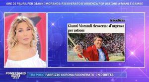 foto barbara durso Gianni Morandi