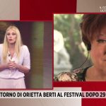 """Sanremo, Orietta Berti a Storie Italiane: """"Ho chiarito con Marcella Bella"""""""