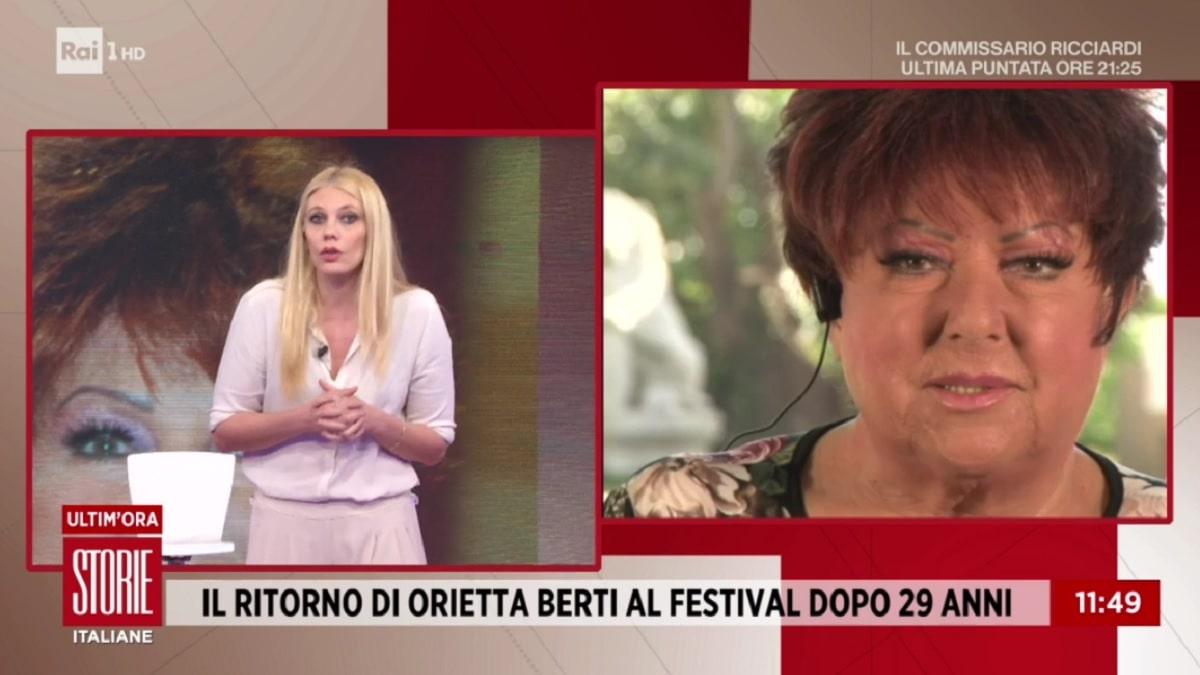 foto Orietta Berti 1 marzo
