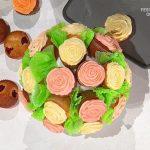 È sempre mezzogiorno: ricetta dolce bouquet fiorito di Sara Brancaccio