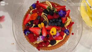 foto È sempre mezzogiorno torta frutta