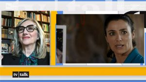foto Lunetta Savino e Luisa Ranieri a Tv Talk