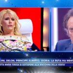 """Live, Maria Teresa Ruta nega di aver tradito Amedeo Goria: """"Glielo avrei…"""""""