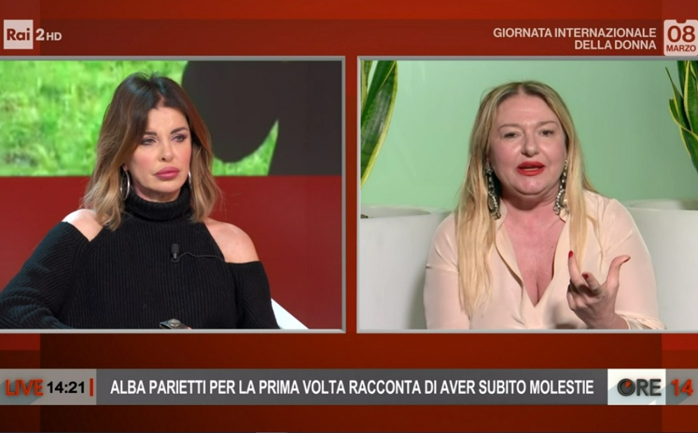 foto Monica Setta e Alba Parietti