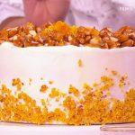 Ricetta Detto Fatto, Torta Carrot Cake: dolce di Alessandro Capotosti