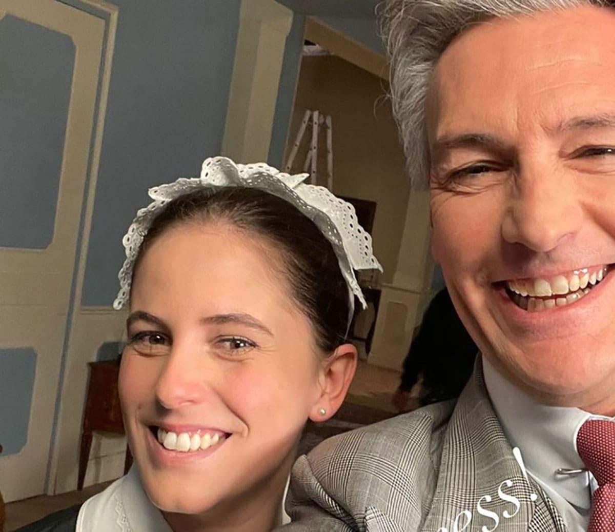 foto Roberto Farnesi e Margherita Nannuzzi de Il paradiso delle signore