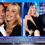 """Live, Stefania Orlando chiude con Andrea Roncato: """"Non ne vale la pena"""""""